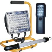 Arbejdslamper, akku og batteri