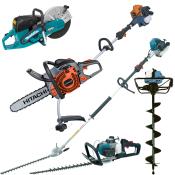 Kædesave og andre benzindrevne maskiner
