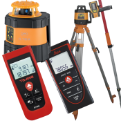 Afstandsmålere og lasere