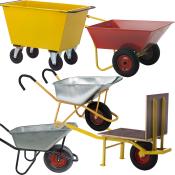 Trillebøre, vogne og fejekærrer