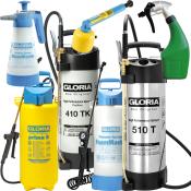 Tryk- og skumsprøjter samt forstøvere